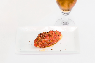 D'Clot: Steak tartar de bou